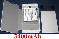 Coque + Batterie 3400mAh type BA900 Pour SONY ERICSSON Xperia TX LT29 LT29i