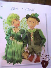 "PATTI & PADDY~Laura Lunsford *RARE OOP 18"" whimsical cloth art doll pattern 2013"