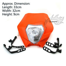 Motorcycle Front Light Headlight For Dirt Bike KTM Enduro Motocross Alien SX SXF
