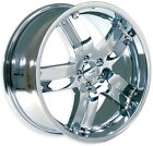 "Brand New Bazo-4 wheels 18"" Chrome (5x100) (Set of 4)"