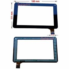 "Vetro Touch screen Digitizer 7,0"" Virgo MID7575 7 Inch Android 4.2 Tablet Nero"