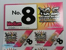 OS O.S engine NO.8 Medium Hot Glow Plug ( MP7.5 MP777 INFERNO GT) FreeShip 2pcs