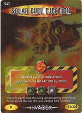"Doctor Who Battles In Time Invader - Rare ""Solar Fuel Ejection"" Card #547"