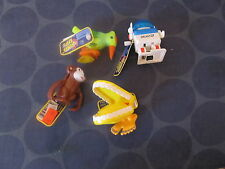Ja-Ru Wind Up toys lot of 4 teeth Bird Monkey Robot TESTED WORKS NEW WITH TAG