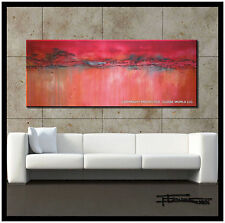 ABSTRACT PAINTING CANVAS WALL ART 60x24in. Listed by Artist  US    ELOISExxx