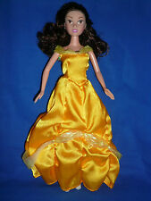 Simba Disney Princess Belle  Doll ~ With Dress~  Good Condition ~ Play or OOAK