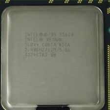Matching Pair of Intel Xeon E5620 2.40GHz Quad Core Processor - SLBV4