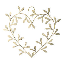 Parlane Mistletoe Heart Hanger Christmas Decoration