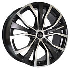 20x8.5 COMMODORE VE VZ VY VU VX VT VS VR BLACK WHEELS & TYRE COMBO
