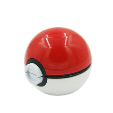 55mm 3 Layer Zinc Alloy Pokeball Pokemon Tobacco Mil Spice Herb Grinder Gift SWG