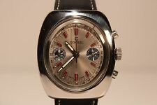 "VINTAGE SWISS RARE ALL STEEL CHRONOGRAPH MEN'S WATCH""CONSUL""/VALJOUX 7733/17 J."