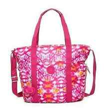 NEW Authentic KIPLING Allena TM5205 Gym Tote Shoulder Crossbody Bag Hibiscus $99