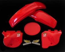 HONDA PLASTIC FENDER KIT REAR FRONT SIDEPANEL SET1978 79 CR250 CR AHRMA VINTAGE