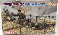 Ejército: Gebirgspioniere Metaxas Line 1941 1/35 modelo de escala por Dragon (dj)