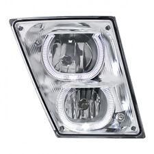 2003+ Volvo VN/VNL Fog/Driving Light w/ White LED Light Bar - Passenger Side