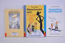 Bücherpaket 3x Kinderbücher/Bärereien/Abenteuer mit Miss Flint/Madonna Svensson
