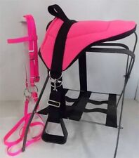 PONY BAREBACK SADDLE PAD SET - HOT PINK