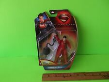 "Man of Steel Wrecking Ball Superman 4""in Figure Mega Ball Smashing Mattel 2013"