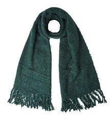 NEW WHITE STUFF SOPHIE GREEN AUTUMN WNTER KINITTED BOUCLE SCARF CHRISTMAS X MAS