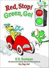 Red, Stop! Green, Go!: An Interactive Book of Colors Bright & Early Playtime Bo