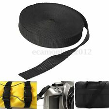 10 Meters 20mm Nylon Tape Strap For Webbing Bag Strapping Belt Making DIY Craft