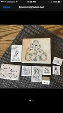 Animal Theme  Rubber Stamp Lot