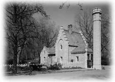 Medieval style Gothic stone castle with tower,  2 bedrooms, plans elevations