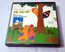 BARBAPAPA SUPER 8 COLORE + SONORO BAP 7 ARTISTA INCOMPRESO TECHNO FILM