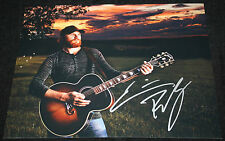 Eric Paslay signed 8 x 10, Friday Night, Song About a Girl, High Class, COA2