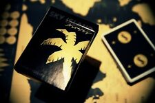 Sky Island Playing Cards Black Gold Edition New Deck