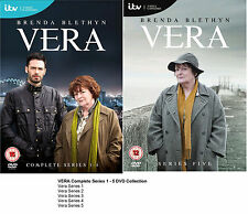 Vera Complete Series 1-5 DVD Season Brand New and Sealed UK Original 2 3 4 R2