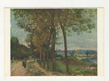 The Seine At Marly Alfred Sisley Art Postcard 868a
