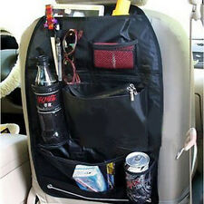 Black Car Storage Multi-Use Pocket Organizer Car Seat Back Bag Car Accessories