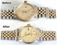 Complete Rolex Service Overhaul & Refinishing Including Shipping Datejust