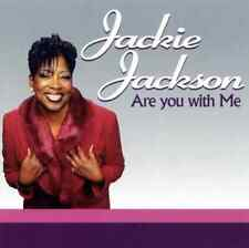 """New! JACKIE JACKSON """"Are You With Me"""" (CD 2004) 10-Tracks *SEALED* crack in case"""
