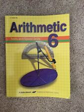 Abeka Arithmetic 6 Test And Speed Drills Key