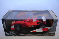 HOT WHEELS 1:18 FERRARI f2001 King of the Rain Michael Schumacher mat56133