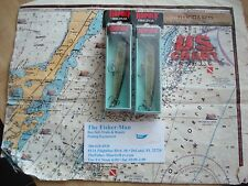 2 RAPALA F-9 LIVE PIKE FLOATING FISHING LURES NEW IN PACKAGES