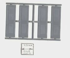 Half (G) Scale - Window Shutters 3956 1:24 - fits 3931 miniature Grandt Line USA