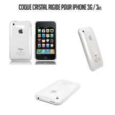 COQUE HOUSSE CRISTAL TRANSPARENTE RIGIDE IPHONE 3G / 3GS
