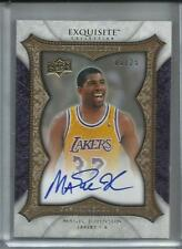 2007-08 07-08 Exquisite Enshrinements Magic Johnson Auto /25 Lakers HOF