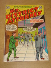 MR DISTRICT ATTORNEY #37 VG+ (4.5) DC COMICS JANUARY 1954 **