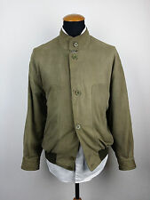 Saint Laurent Mens Leather Bomber Jacket Extra Large XL 44R YSL Suede Silk Nappa