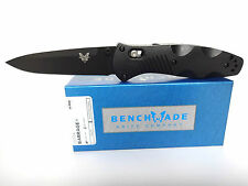 BENCHMADE KNIFE 580BK BARRAGE 154CM Drop-Point Folder - AXIS ASSIST