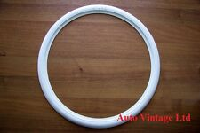 "19""Motorcycle whitewall tyre trims, white wall flaps 19"", set of 4"