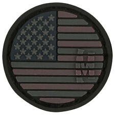 PVC Patch MAXPEDITION USA US FLAG - MICRO circle New for 2015 - STEALTH