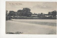 The Bund Falls Poona India Vintage Postcard 833a