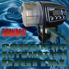 COMEDERO AUTOMATICO DIGITAL PARA PECES PILAS INCLUIDAS!!!AUN MAS GRANDE!!!