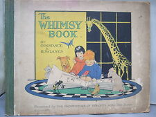 The Whimsy Book - Constance E Rowlands- Wright's Coal Tar Soap HB Illustrated