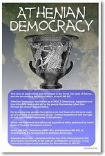Ancient Greece - Athenian Democracy - Classroom POSTER